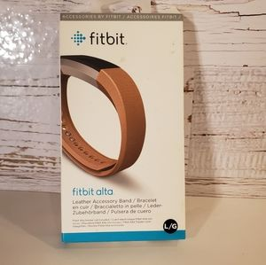 NEW Fitbit Alta leather accessory band